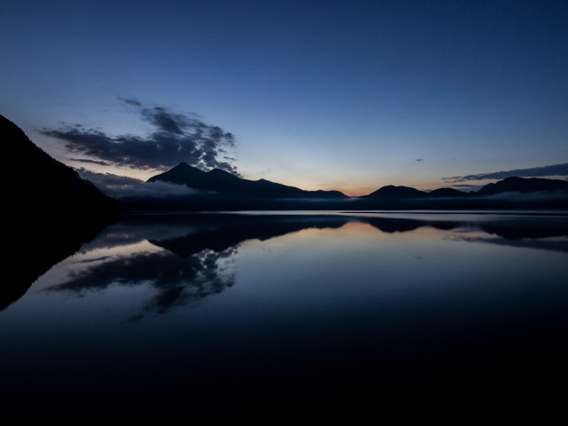 Morgens am Walchensee